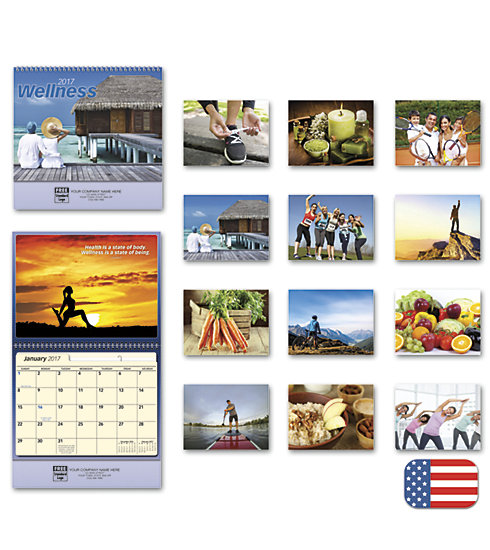 Customized 2017 wall calendar with photos lead to happy, healthy lives