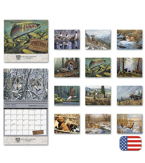 2017 wall calendar featuring impressive photography of Wildlife