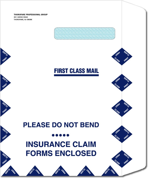 787 - Medical Envelopes - Large Claim Form Envelope