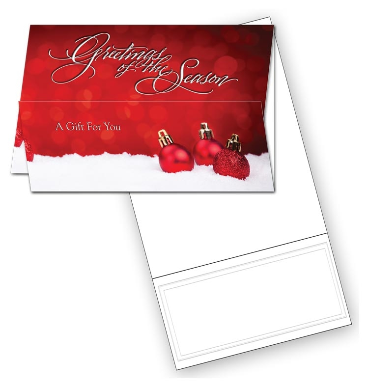 HL2536 - Holiday Coupon Cards | Holiday Coupon Cards Printing