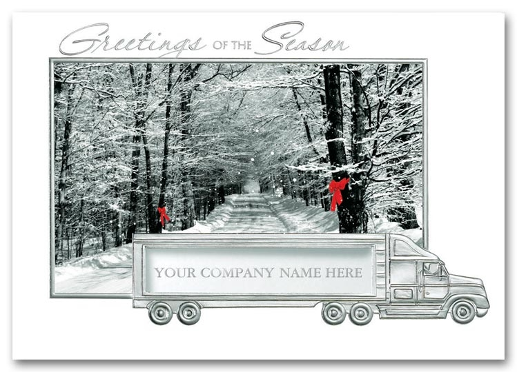 HML0904 - Truck Holiday Cards