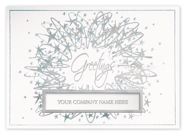 H14628, Crystal Vision Holiday Cards