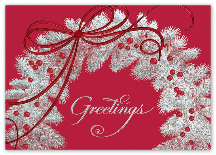 Holiday cards with personalization options and beautiful magical designs