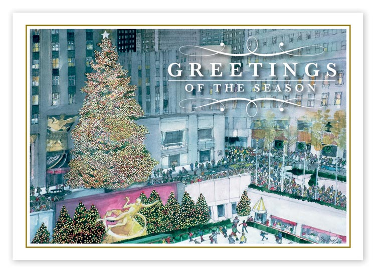 HP14320, Festive in New York Christmas Cards