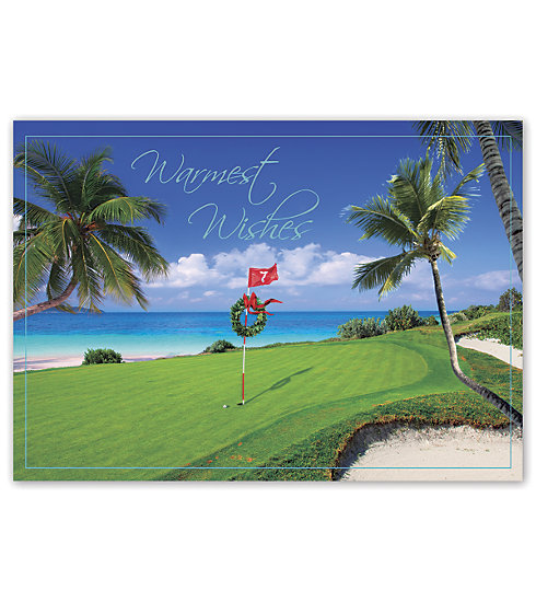 This golf inspired card is perfect for everyone on your list.