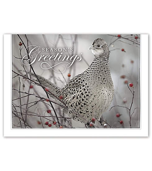 This adorable card with a bird on the front is sure to delight all who receive it.