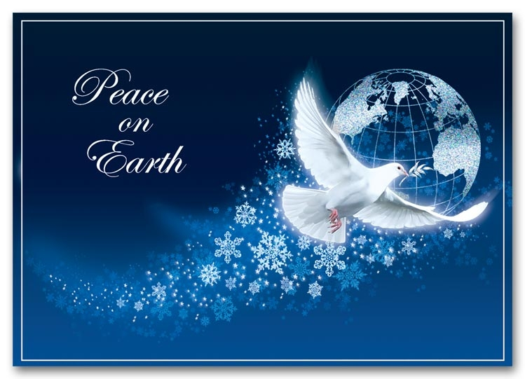 Peace Holiday Cards | Peace Dove Holiday Cards