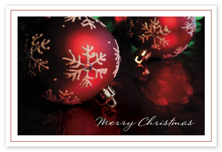Elegant spectacular christmas postcards with full color imagery
