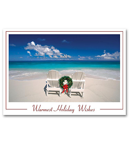 Say everything you want to say with these cards set on a beautiful beach.