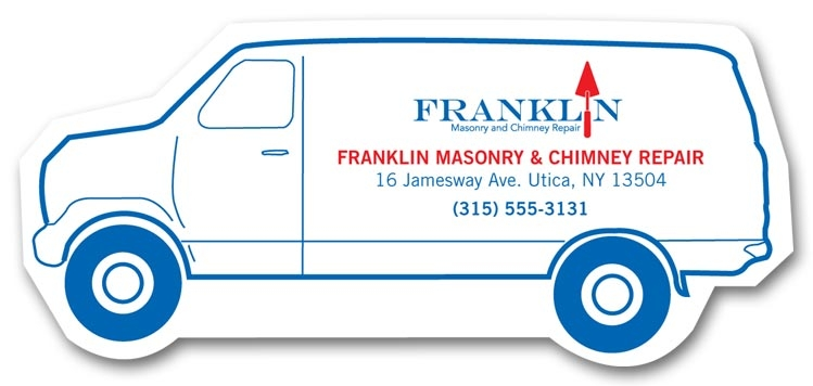 108857 - Personalized Van Magnets