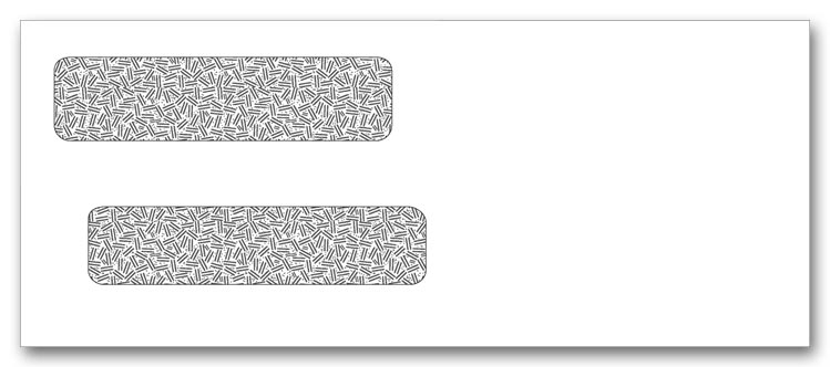 91534 - Double Window Check Envelopes