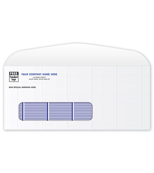 96311- Confidential #9 Window Envelopes Printing
