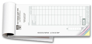 Deposit Ticket Books - Max. Entry