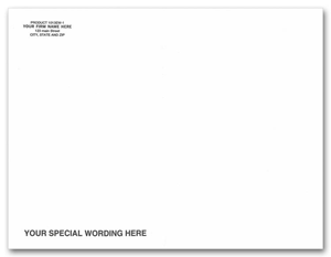 White Mailing Envelopes, Open End