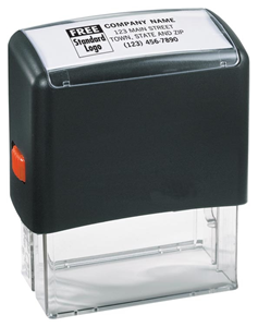 Self-Inking Name & Address Stamp