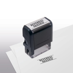103022, Referral Needed Stamp - Self-Inking
