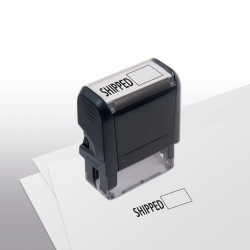 103038, Shipped w/ Open Box Stamp - Self-Inking