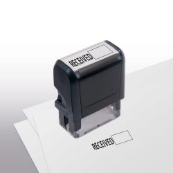 103039, Received w/ Open Box Stamp - Self-Inking