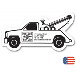 108887, Tow Truck Magnet