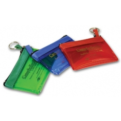 109060, Keyring Zippered Pouch