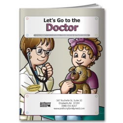 Promotional Coloring Book | Custom Doctor Coloring Book