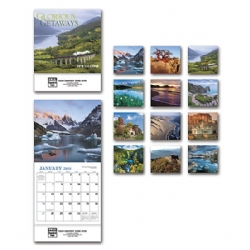 2019 Mini Wall Calendar - Glorious Get Away