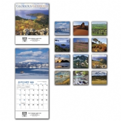 2020 Mini Wall Calendar - Glorious Get Away