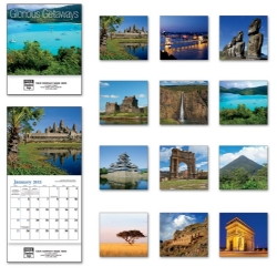 2015 Mini Wall Calendar - Glorious Get Away