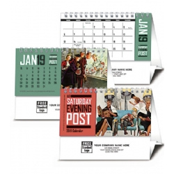 2019 Saturday Evening Post Desk Calendar