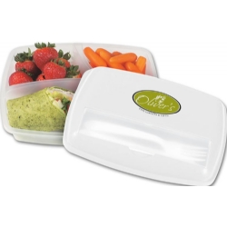 109745, 3 Section Lunch Container