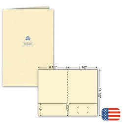 109803, Legal Presentation Folder - Ink Imprint