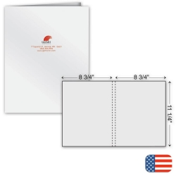 109825, One Part Extra Capacity Report Cover - Ink Imprint