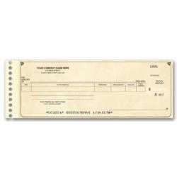 promotional check custom expense ledger check