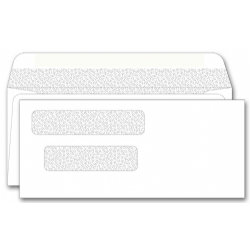 115041N, Double Window Envelope