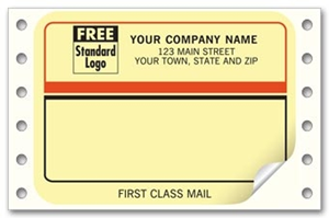 "1226, Continuous Mailing Label, ""First Class Mail"""