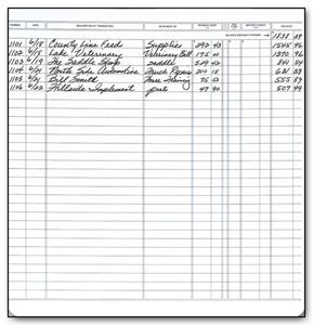 deskbook check registers