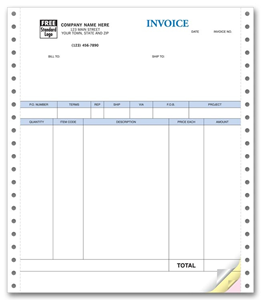 Continuous QuickBooks Product Invoices With Packing Lists - Quickbooks invoice list