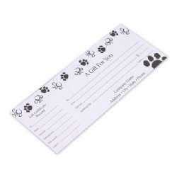 Custom Gift Certificates | Dog Lovers | Paw Prints