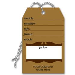 Small Furniture Brown Price Tags