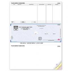High Security Accounts Payable Check for Laser Printers