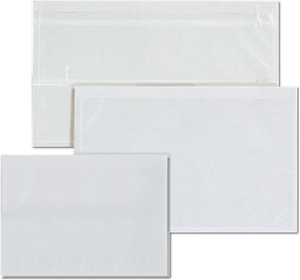 Transparent File Pockets