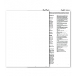 Blank 1099 Tax Forms - Multiple Backers, Recipient Copy B