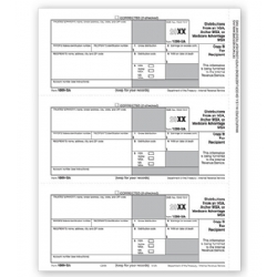 1099-SA Laser Tax Forms - Recipient Copy B
