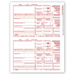 Laser 1099-R Tax Forms - Federal Copy A