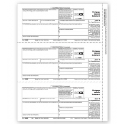 Laser 1098 Tax Forms - Copy B - Bulk