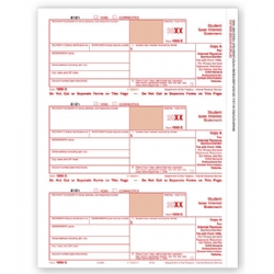 Laser 1098-E Tax Forms - Federal Copy A