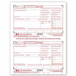 Laser W-2 Tax Forms - SSA Copy A