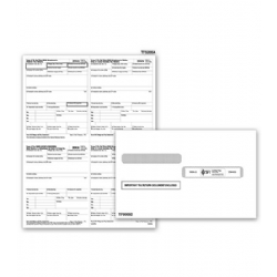 Laser W-2 Tax Forms - P Format, 4-Up