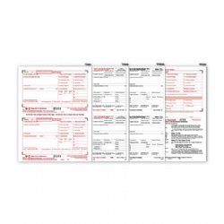 2-Up Laser W-2 Tax Forms Kit