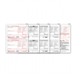 Laser W-2 Tax Forms Kit